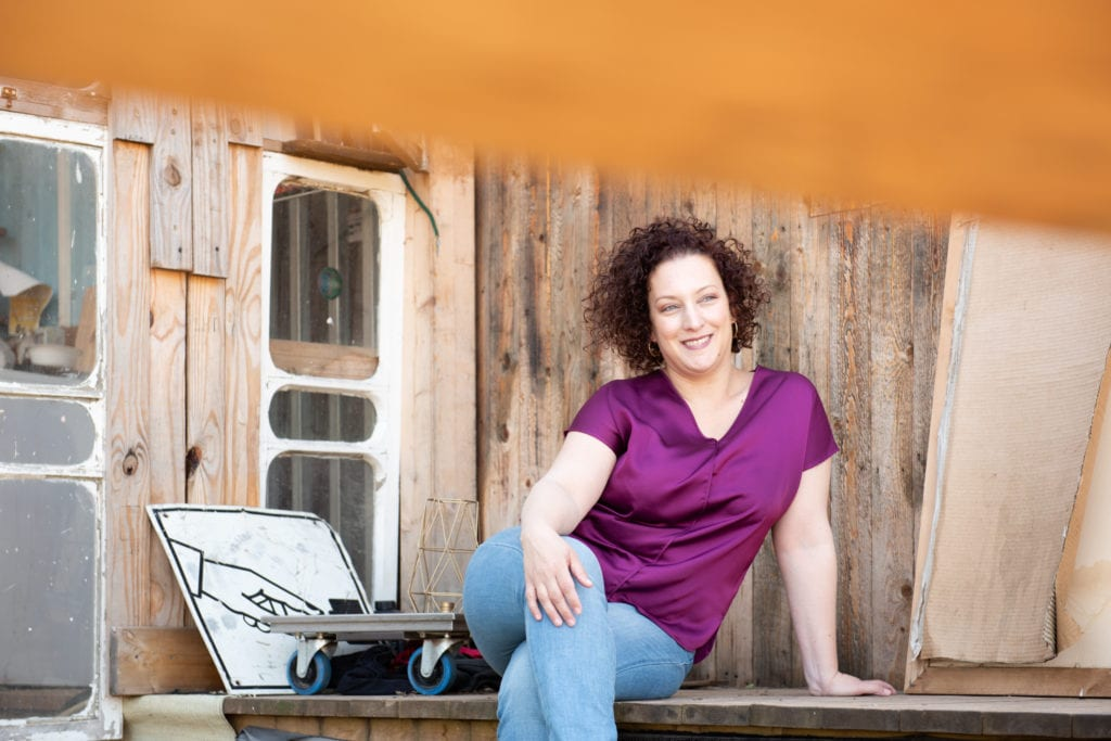 עדי מורן קיבא מפענחת פוטנציאל צילום: אלונה גלמן